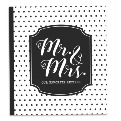 Recipe Binder Mr. & Mrs.