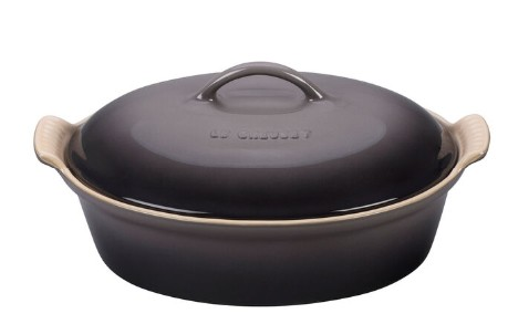 Le Creuset Oval Casserole W/Lid 3.5L Oyster