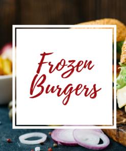 frozen burgers